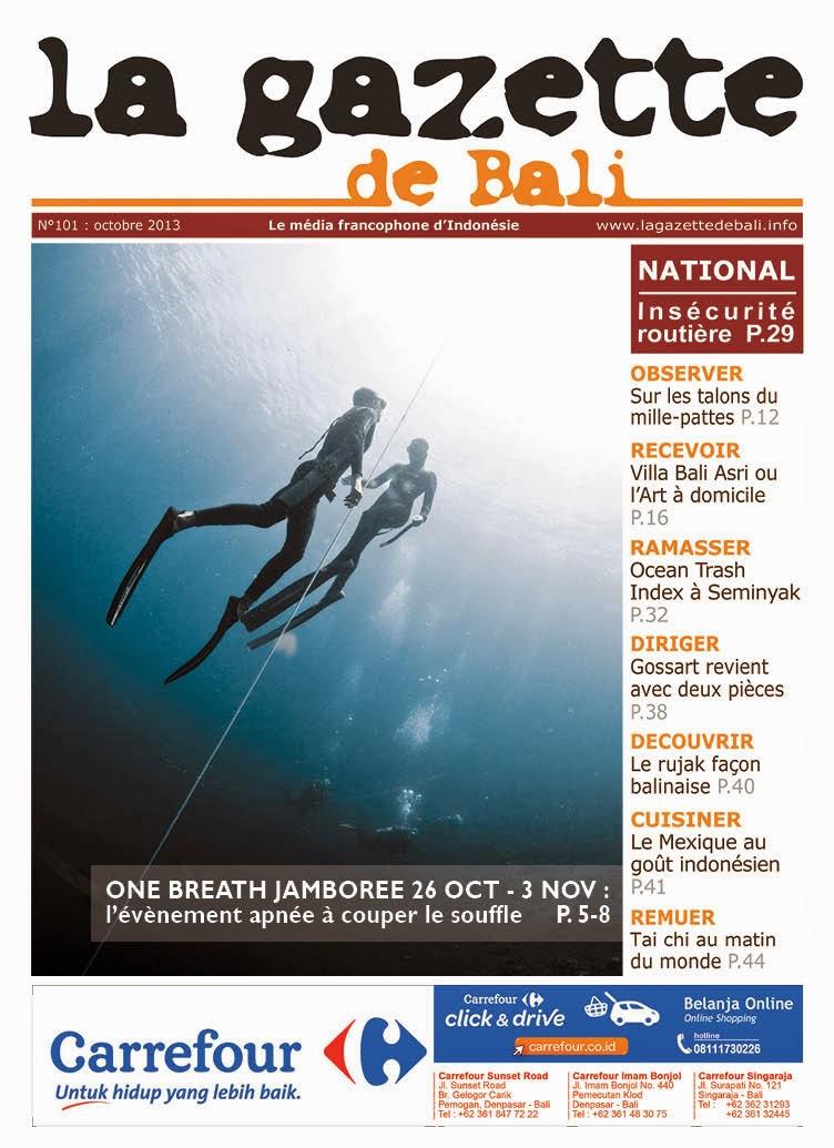 La Gazette de Bali octobre 2013