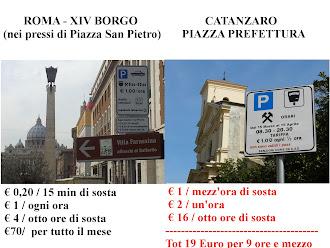 Roma - XIV Borgo vs Catanzaro, Piazza Prefettura