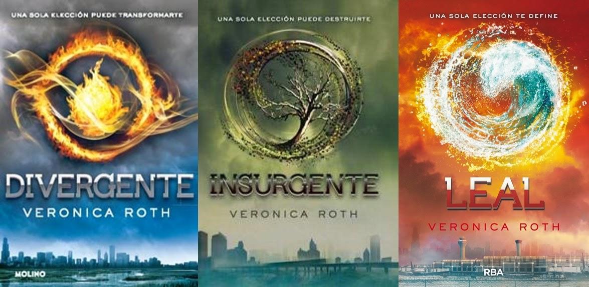 Reseña: Saga 'Divergente', Veronica Roth