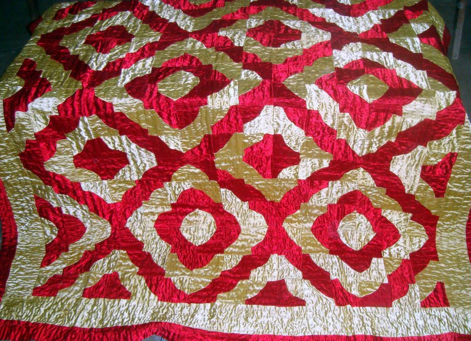 Sindhi Embroidery Bed Sheets