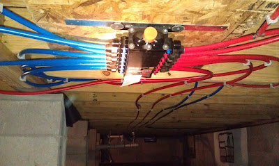 Wjk ink plumbing with pex for Crawl space plumbing