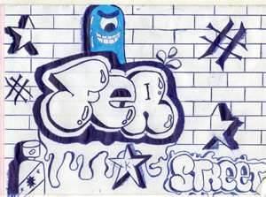 graffiti que diga fernando
