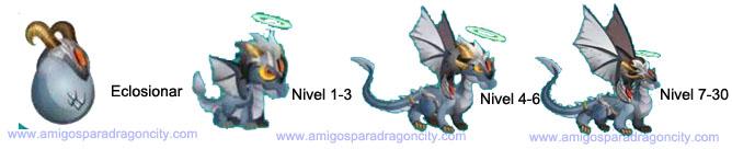 imagen del crecimiento del fallen dragon