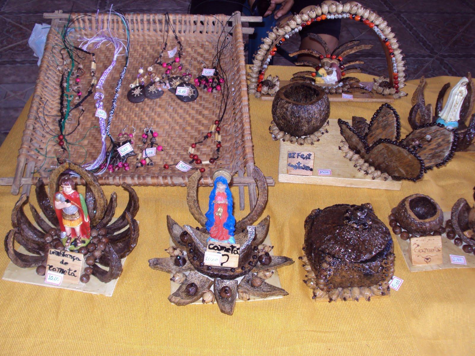 Ponto de cultura de camet feira de artesanato na for Cameta com
