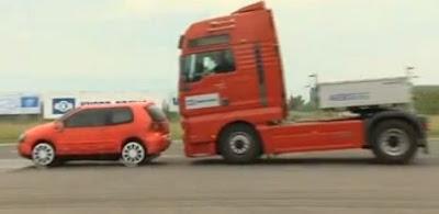 videos de camiones frenada de emergencia
