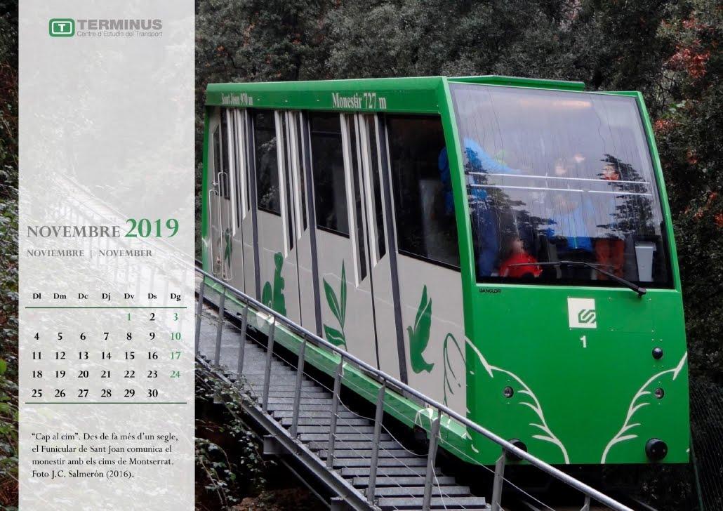 Calendari - Novembre del 2019