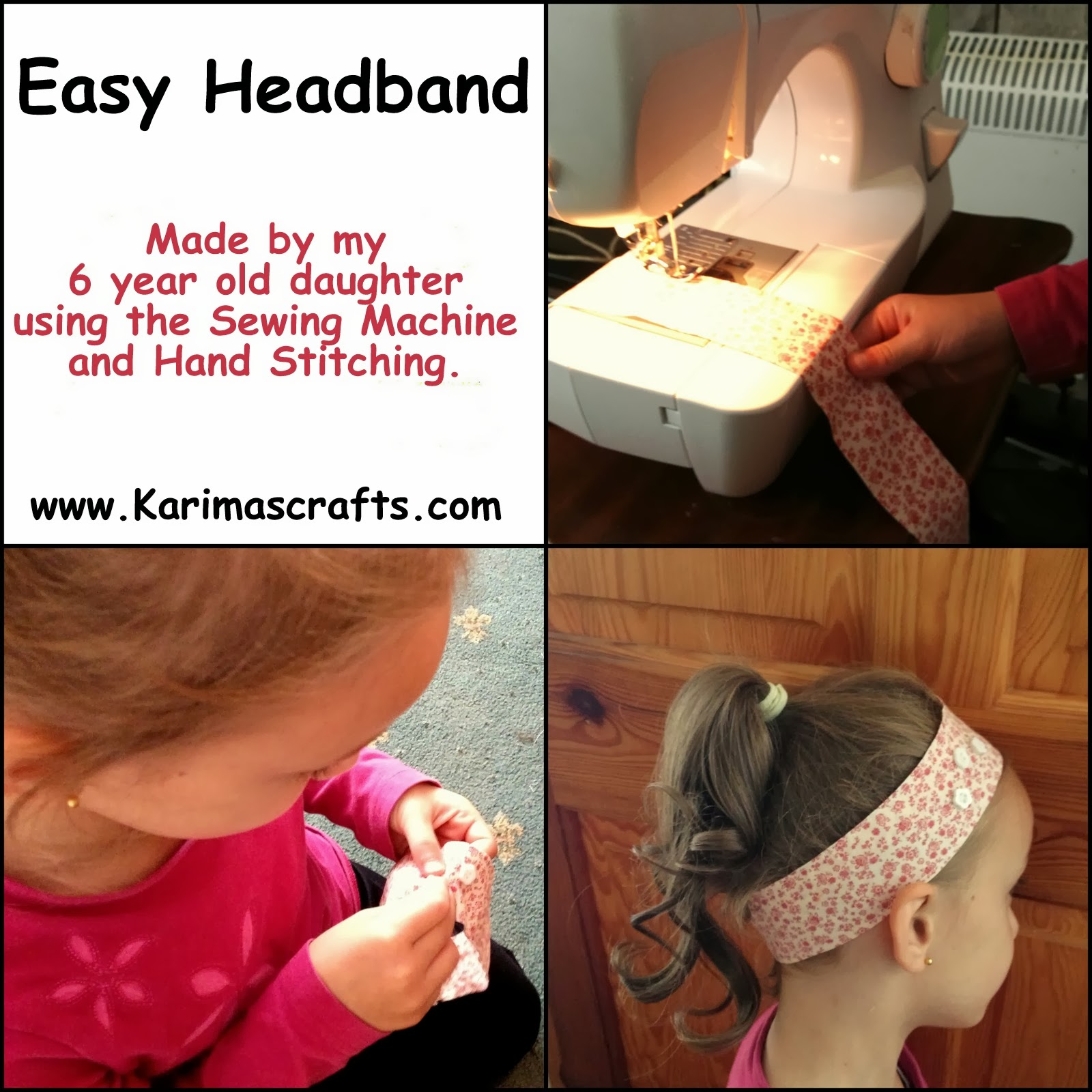 easy headband tutorial muslim blog
