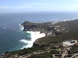 view from cape point Cape of Good Hope South Africa Cap de Bonne-Espérance vue depuis cape point Afrique du Sud