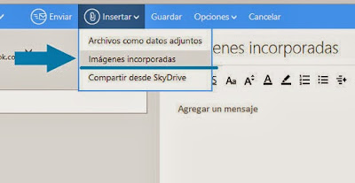 imagenes incorporadas outlook