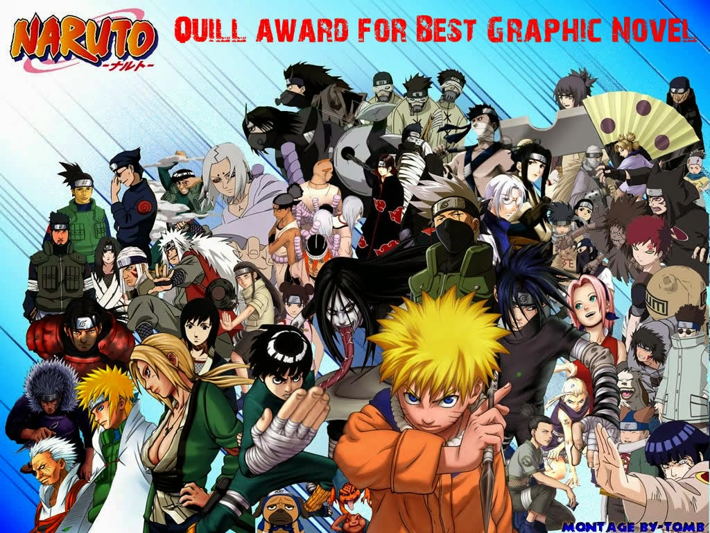 Naruto got the Quill Award for the Best Graphic Novel in 2006