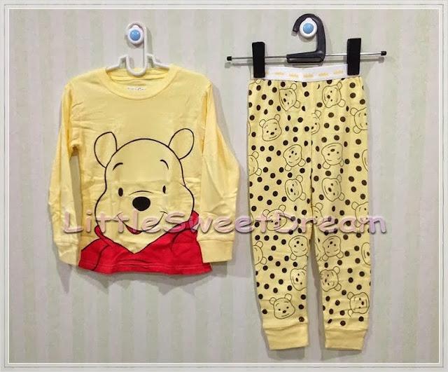 ชุดนอน Baby Gap (Pooh Bear)
