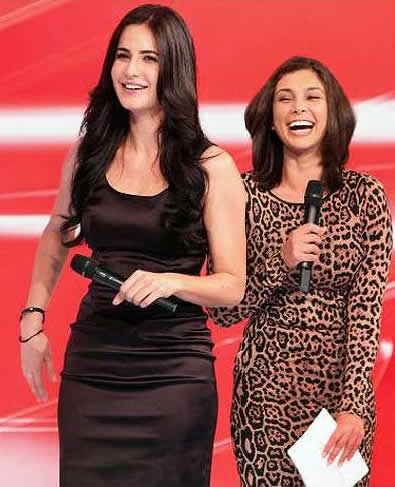 Katrina Kaif at India Auto Expo 2012 Pics