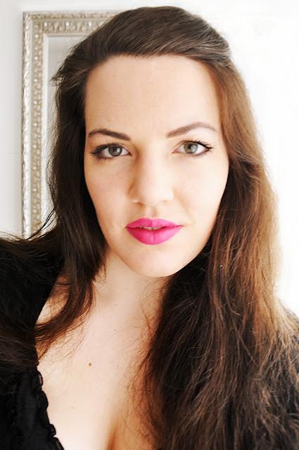 pink matte lip // bright lipstick // pinker, matter Lippenstift