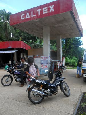 Siquijor gas station caltex