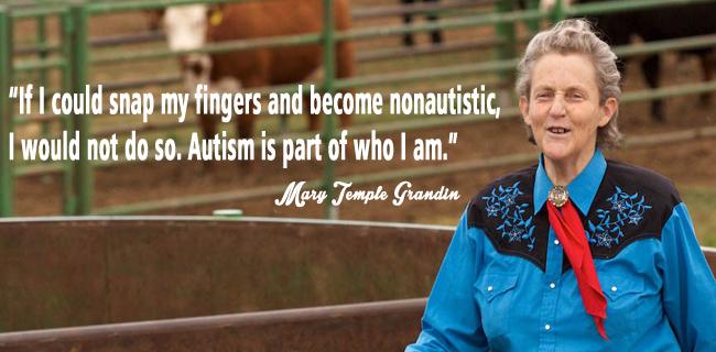 temple grandin autisme