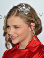 Chloe Moretz's bedazzles updo Hairstyle