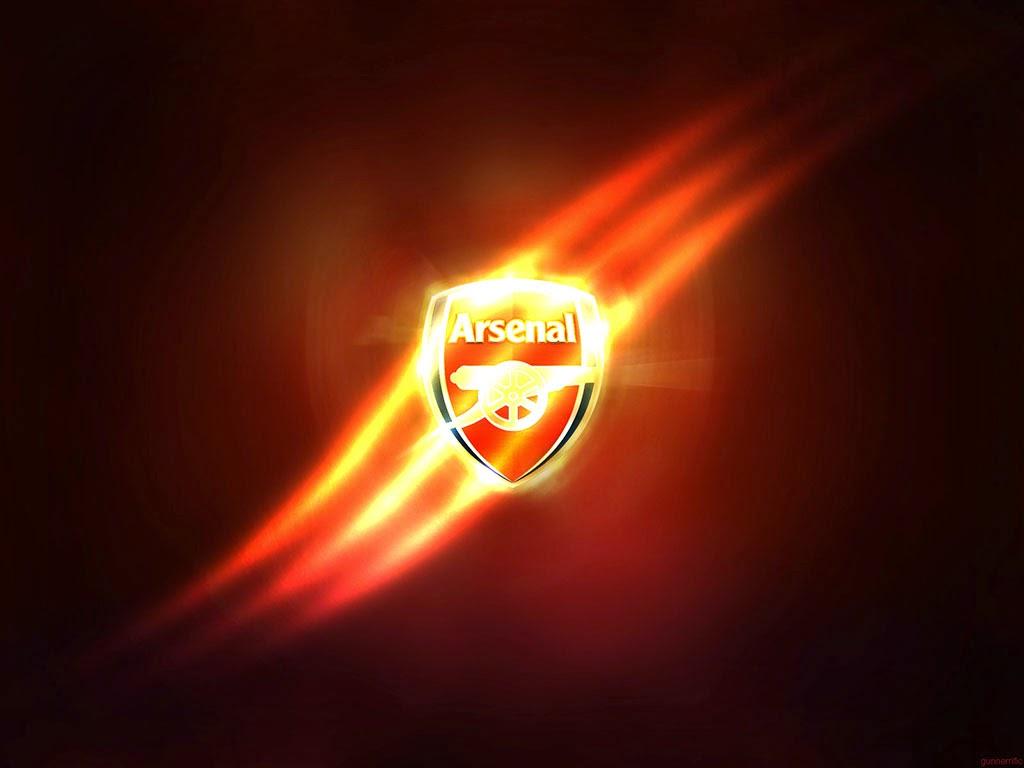 hình nền logo arsenal 3d tuyệt đẹp