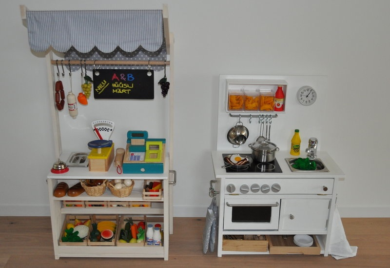 Детская кухня своими руками из икеа