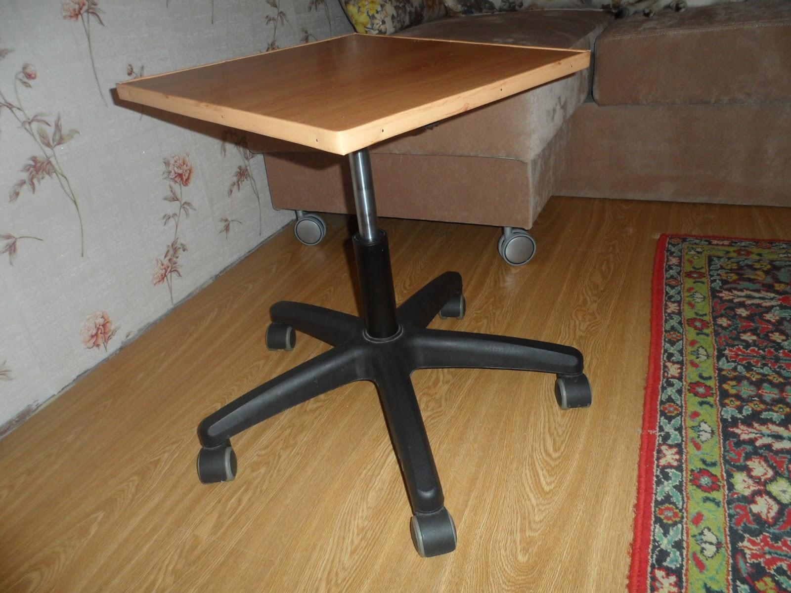 Столик из стула своими руками