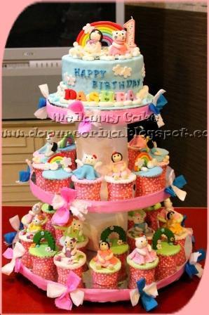 Tahun Hello Kitty Cake Ideas and Designs