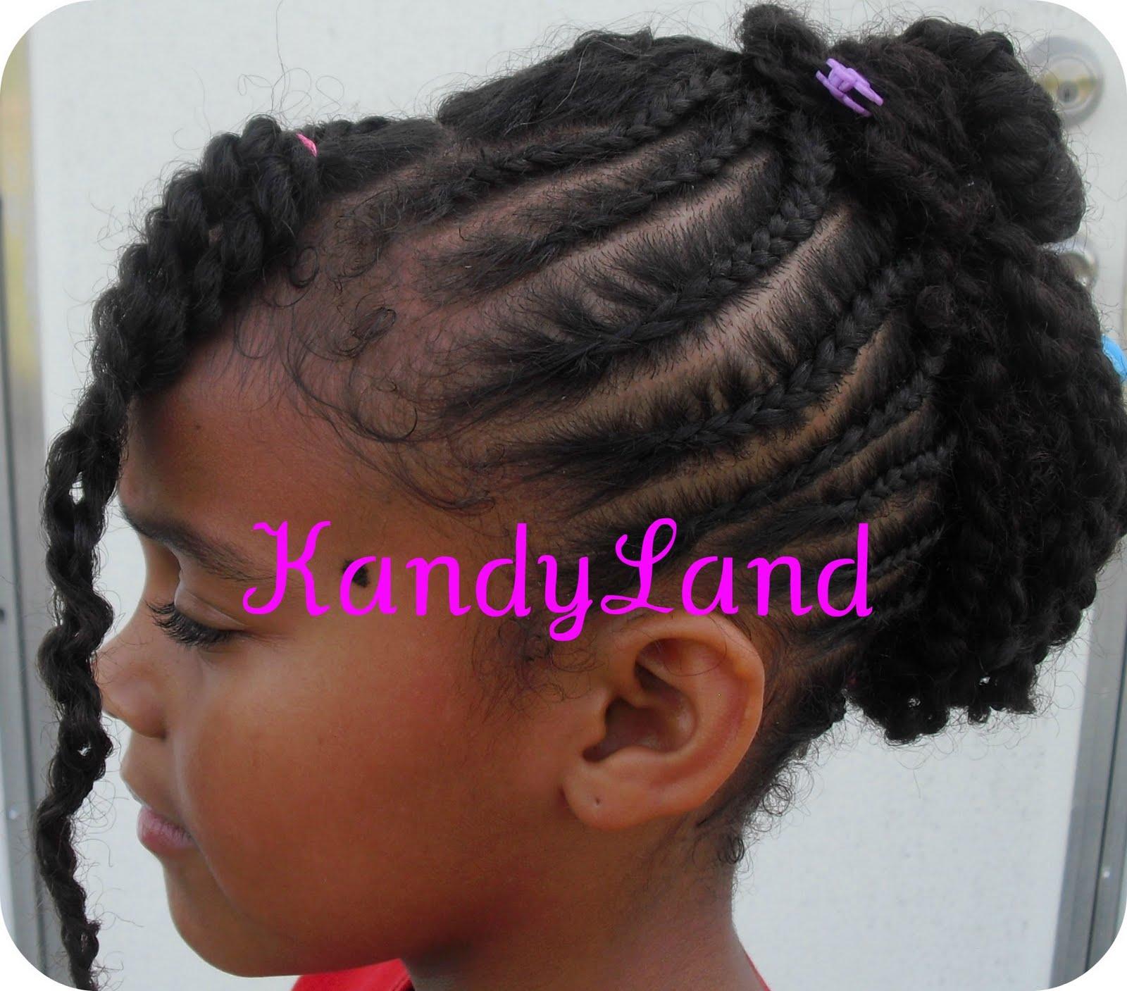 Kandyland Twisted Updo