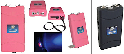 A portion of the proceeds for the strongest pink stun gun, goes toward the fight against breast cancer.