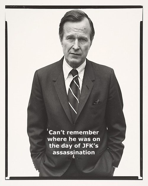 George Bush's JFK Assassination Fingerprints