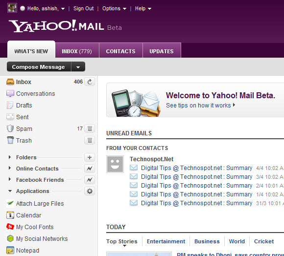 how to cancel my email account in yahoo