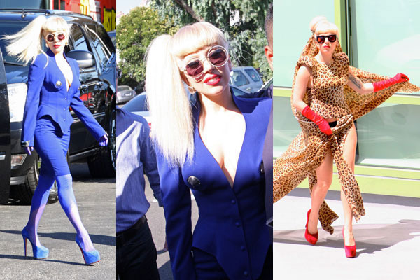 Lady Gaga New Smoking Major Fashion 2012