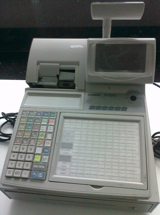 Mesin cash register 3000 PLU CASIO