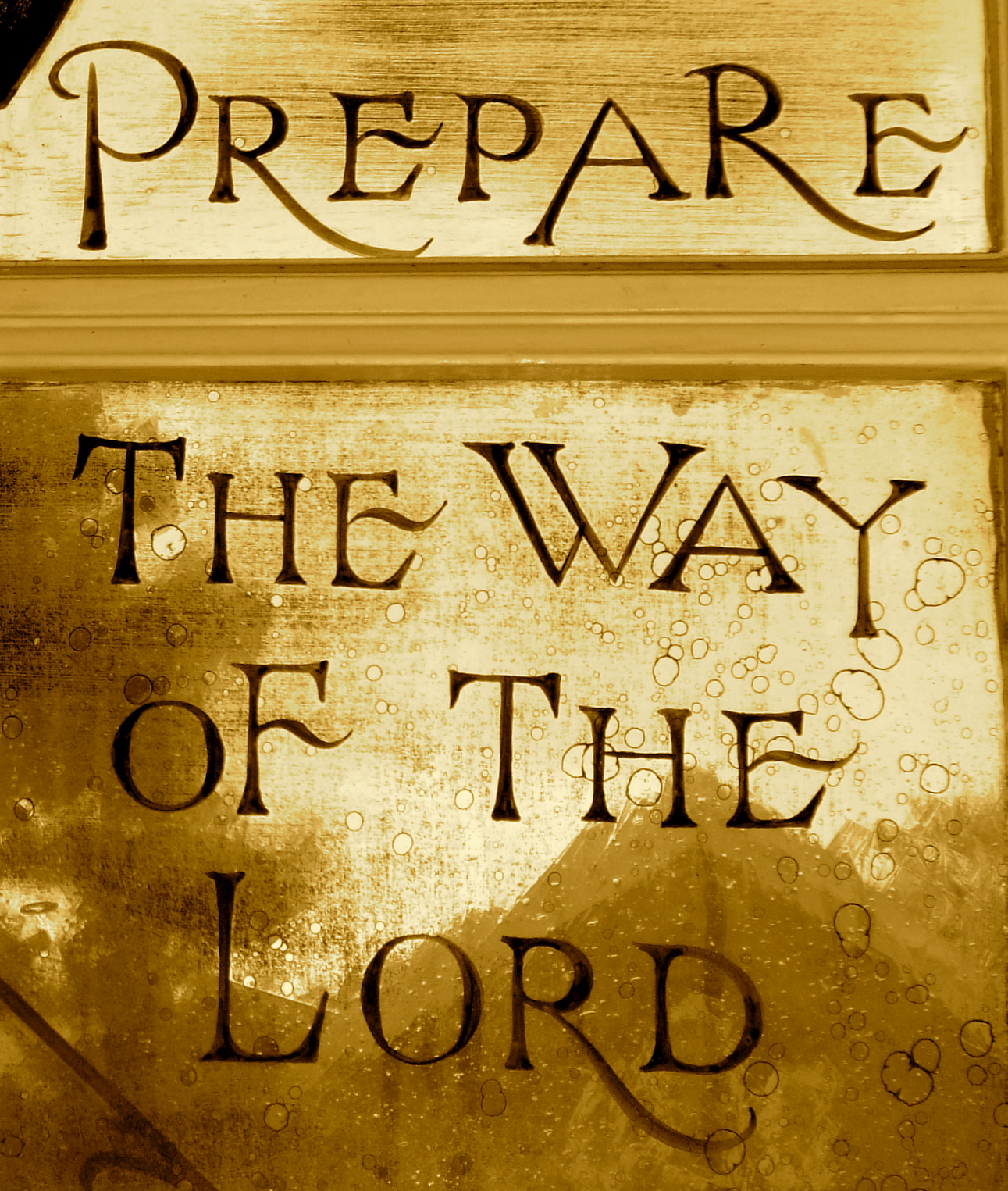 I Prayed And Then I Shot Him The Glamorous Church: Prepare The Way Of The Lord