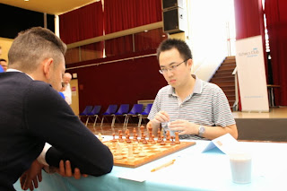 Master d'échecs ronde 6 : Olivier Touzane (2341) - Ni Hua (2674) - Photo © Chess & Strategy