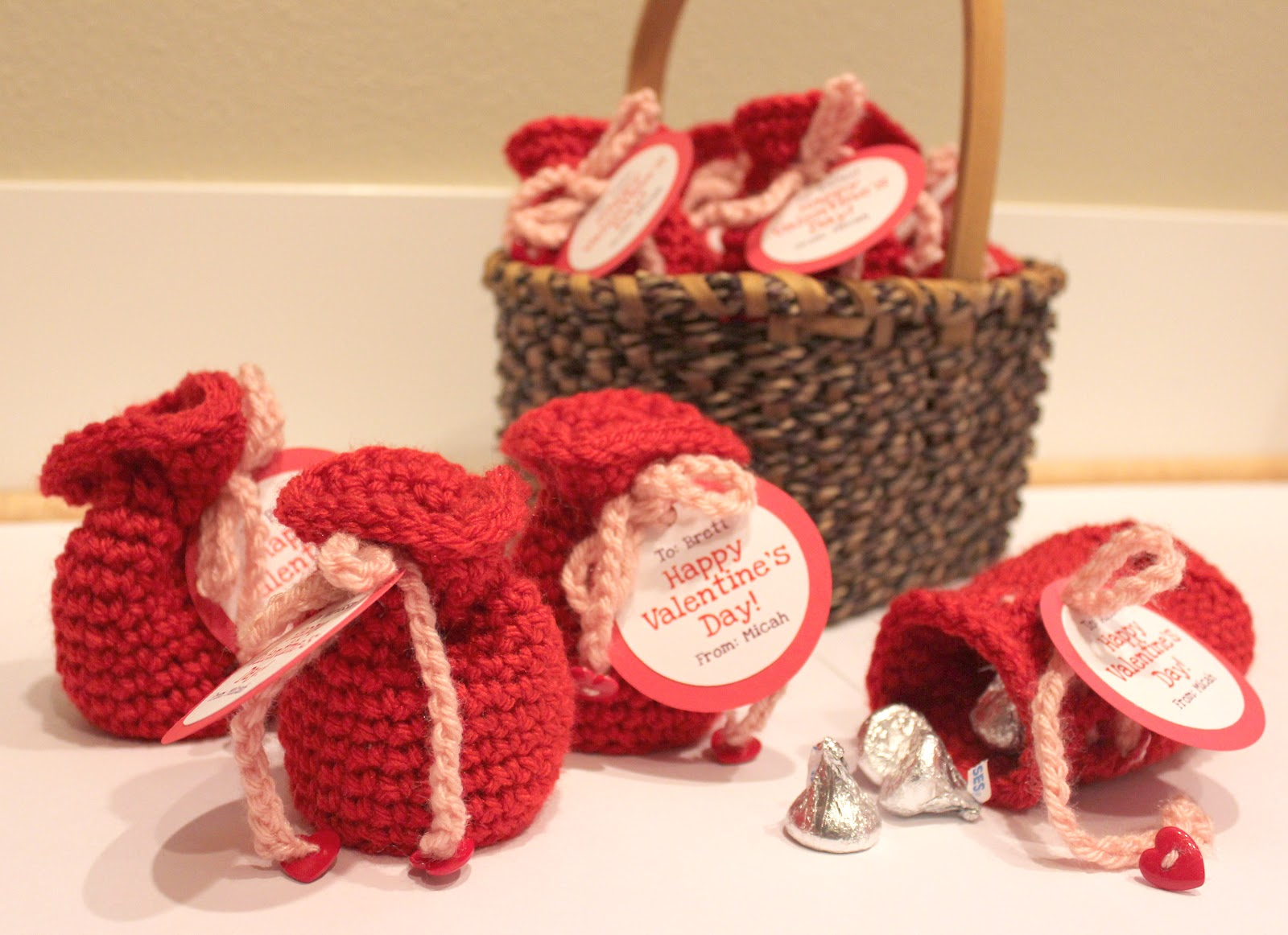 Valentines Candy Crochet Bags Repeat Crafter Me