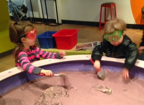 kid paleontologists