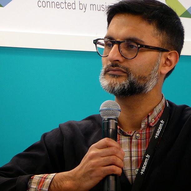 Midem 2014 : Tahir Basheer (Sheridans) / photo S. Mazars