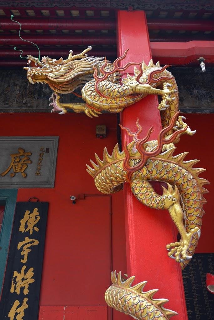 Guan Di Temple Kuala Lumpur dragon snake