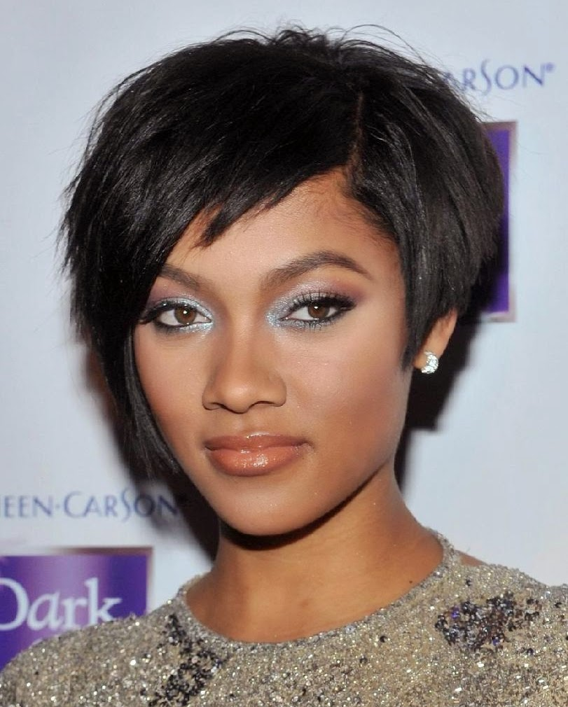 short hairstyles for black women 2015}