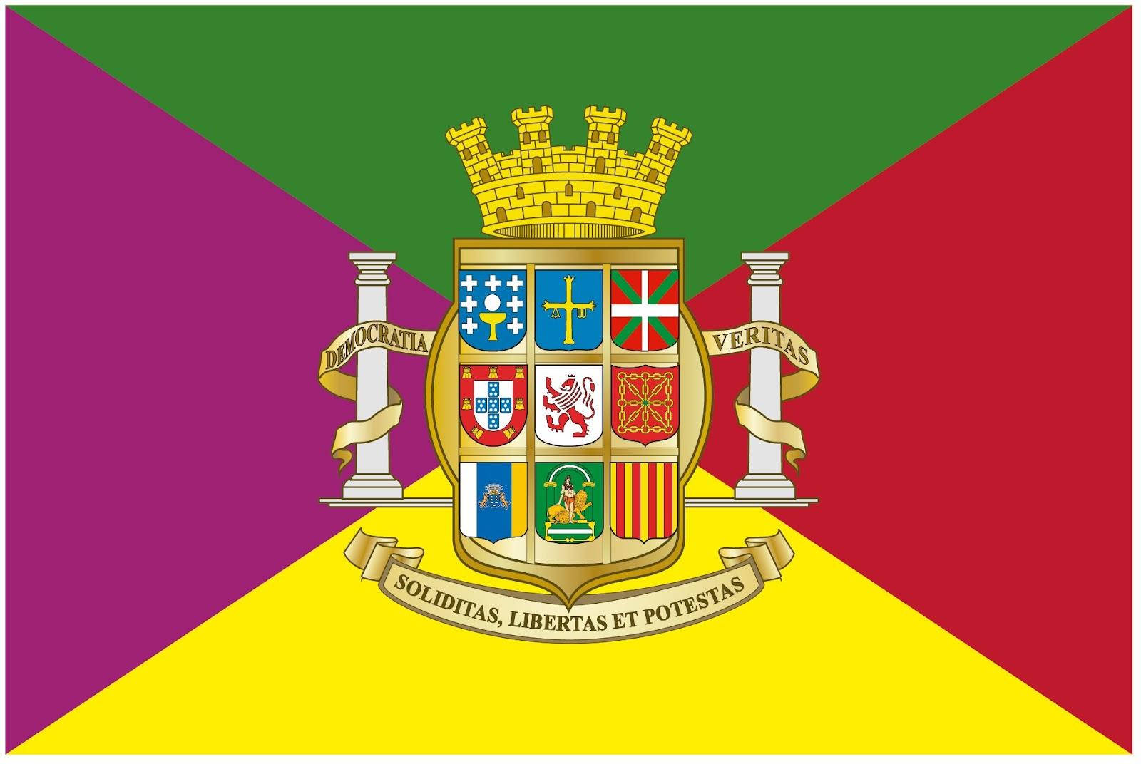 ESPAÑA NUNCA SE OLVIDA DRY+Union+Iberica+bandera