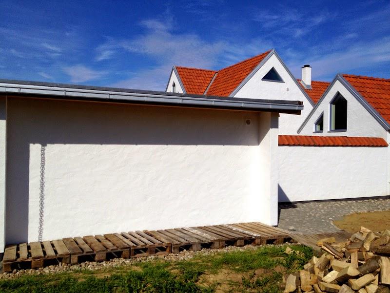 Villa Natura ekologiskt lågenergihus Österlen sol och ved uppvärmning