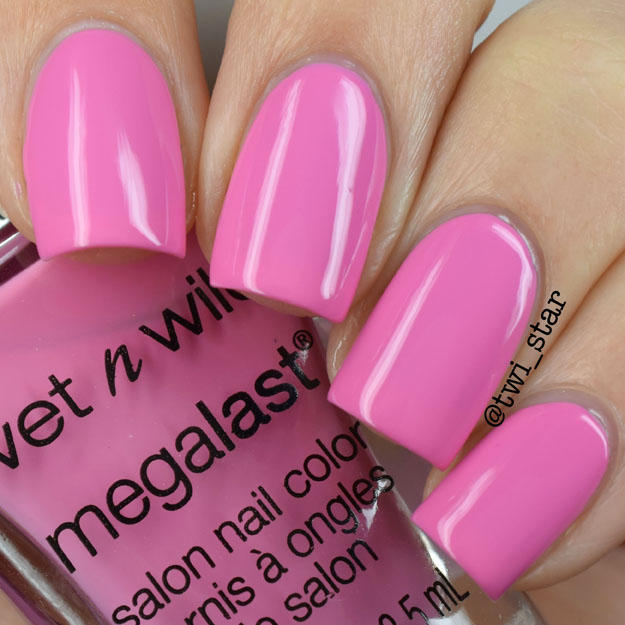 Wet N Wild California Dreaming Re In Carnation polish swatch