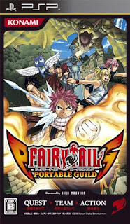 Fairy Tail Portable Guild PSP GAME