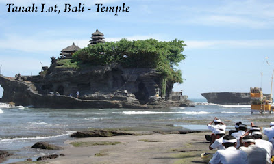 Tanah Lot is one of the most famous temples on Bali, Indonesia