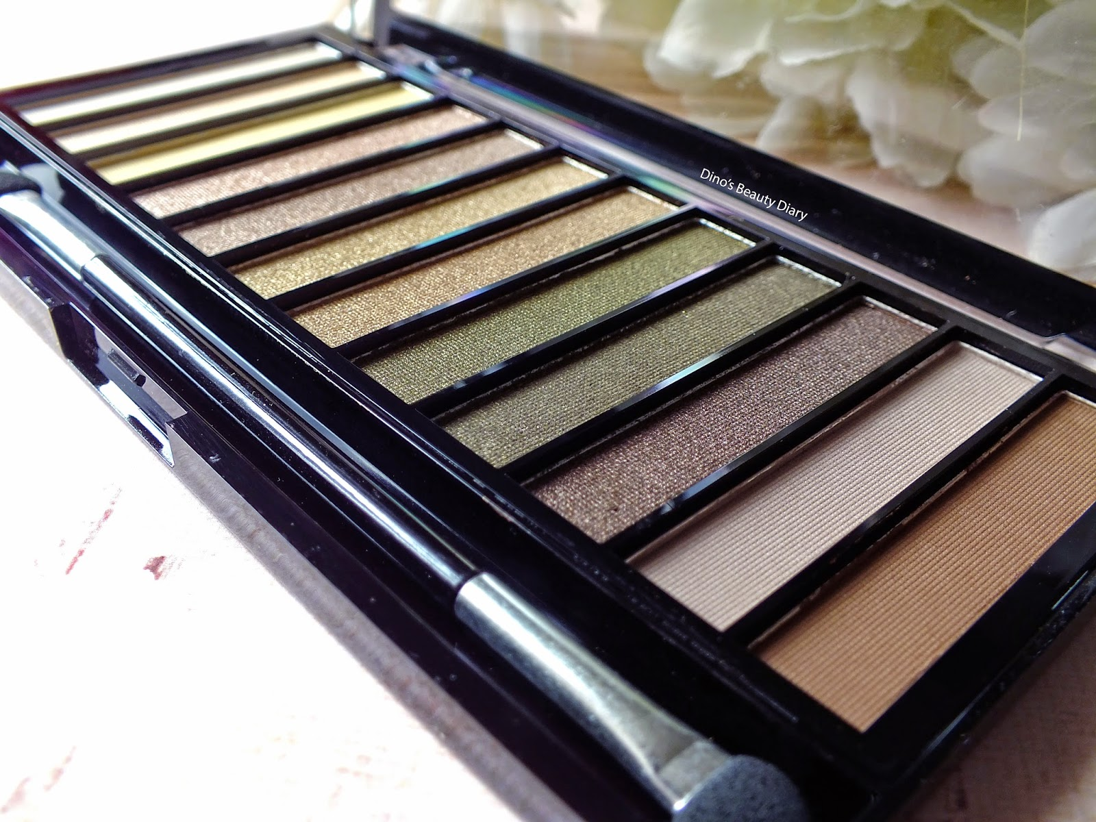 Dino's Beauty Diary - Make-Up Review - Makeup Revolution 'Iconic Dreams' Palette