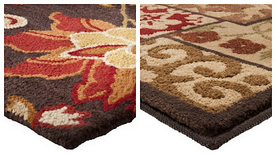 Easy Holiday Home DIY, Earth Tone Area Rugs, Floral Area Rugs, Holiday Home DIY