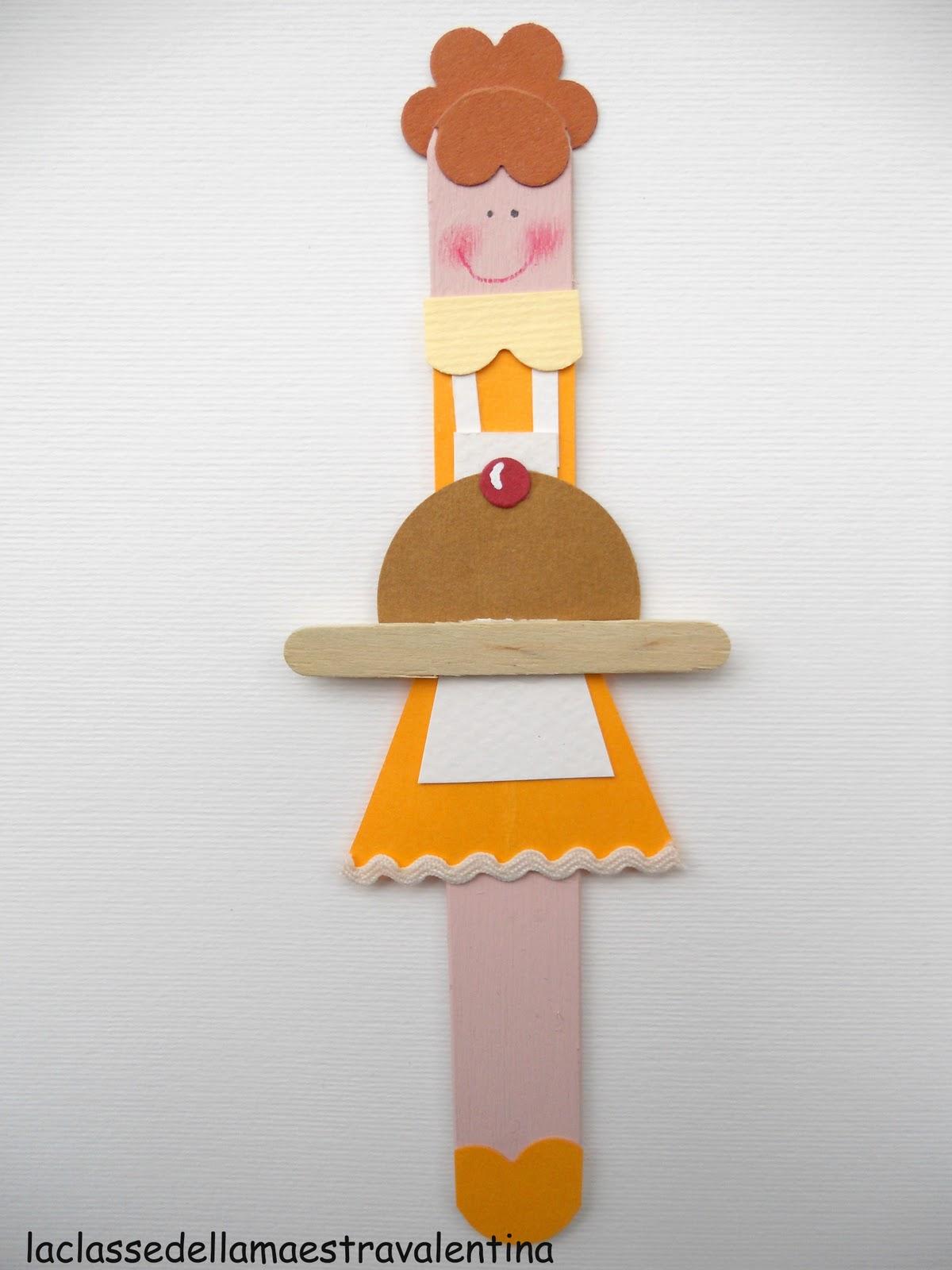 La classe della maestra valentina segnalibri per la festa for Lavoretti con abbassalingua