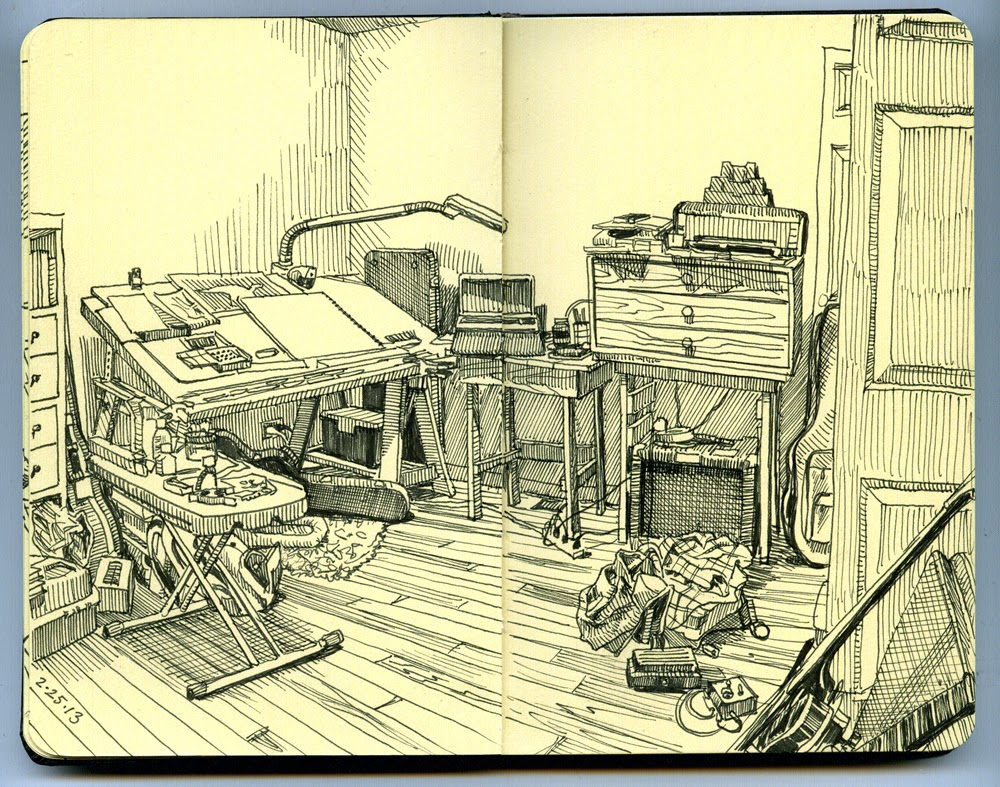 04-Paul-Heaston-Moleskine-Drawings-Points-of-View-www-designstack-co
