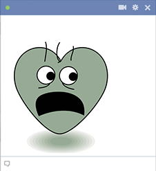 Scared Heart for Facebook