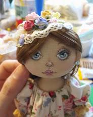 Авторская кукла Глаша