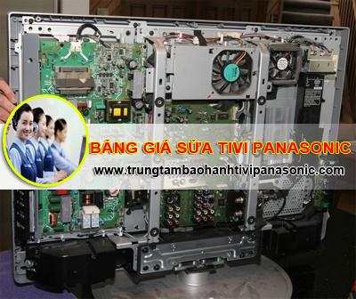 Bảng giá dịch vụ sửa chữa tivi Panasonic 2015