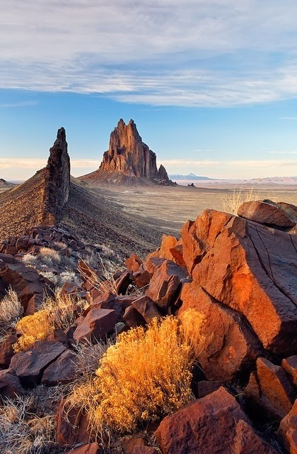 Shiprock Rock, New Mexico